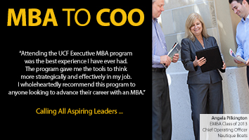 MBA to COO