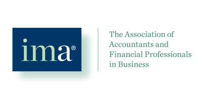 association of accountants and financial professionals in business logo