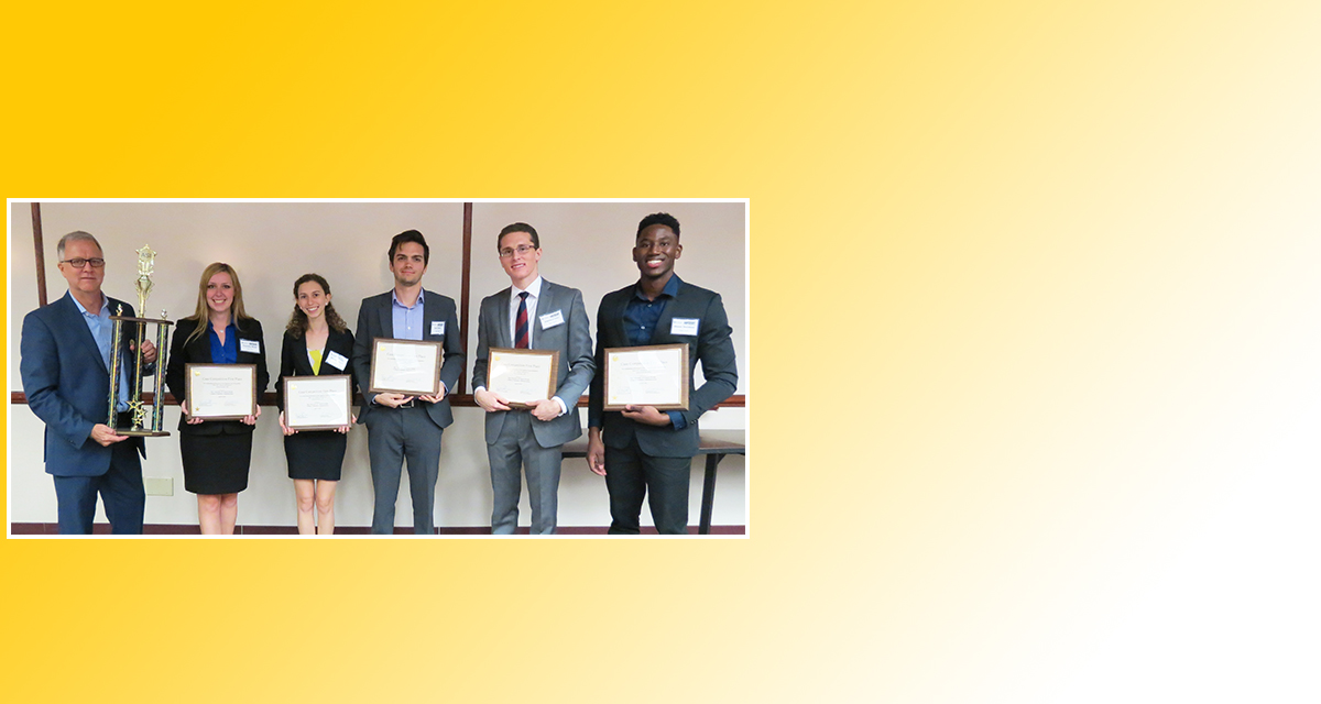 Team Zenith Wins Great Capstone Case Competition