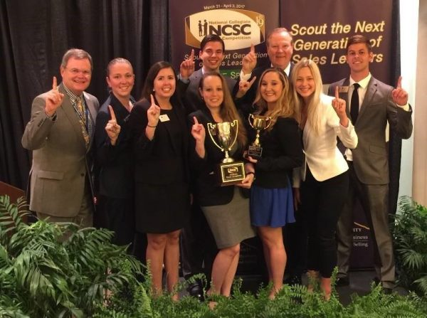 UCF National Collegiate Sales Competition Champion Team