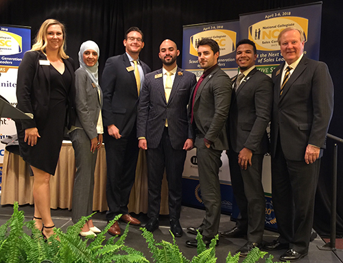 UCF Professional Selling Program Members Win 4th Place at National Collegiate Sales Competition
