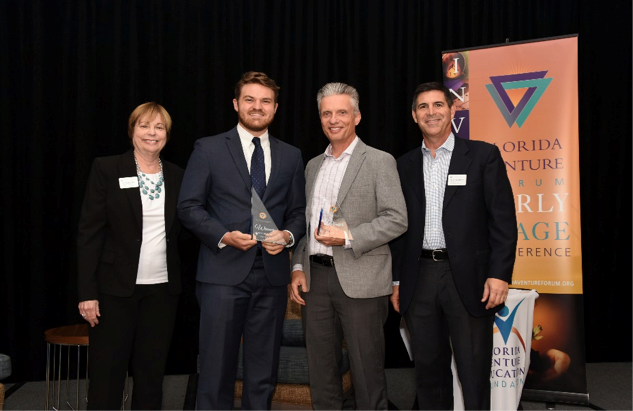 UCF Student's Capacitor Tech Wins First Place in Florida Venture Forum Collegiate Business Plan Competition