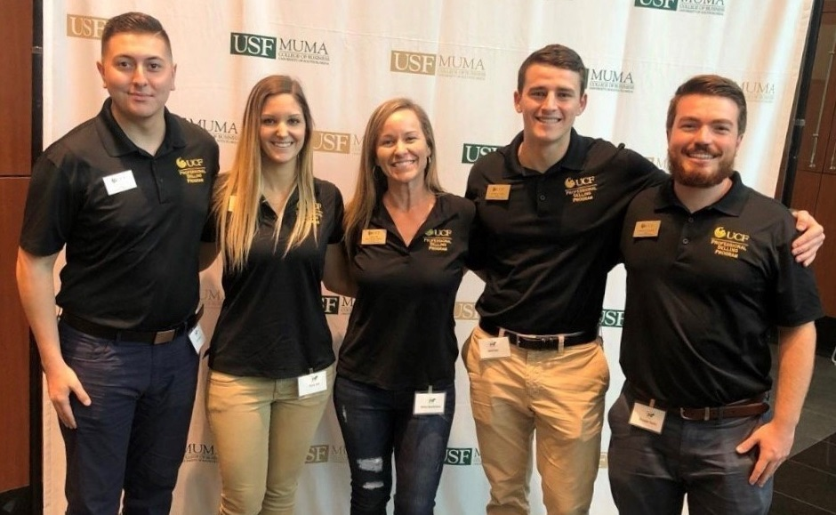 UCF Professional Selling Program Student Wins Big at USF Competition