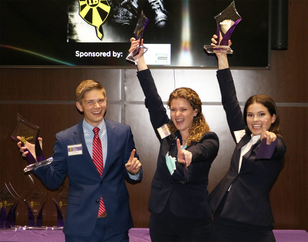 Integrated Business Students Impress Judges, Enterprise Holdings Staffers at Spring 2019 IB Competition