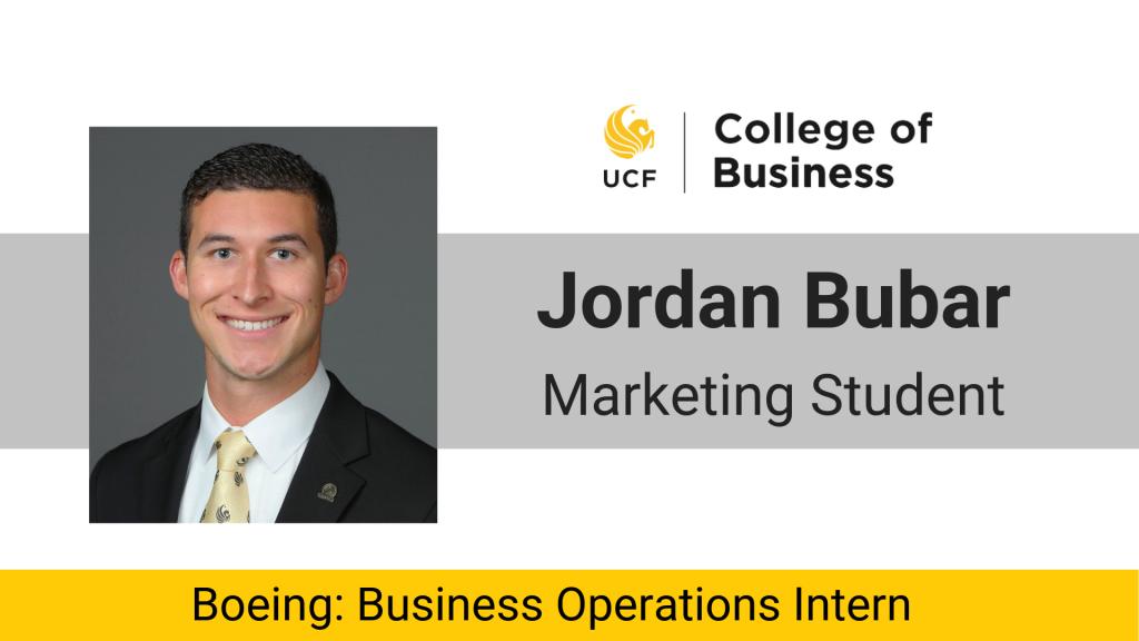 Inspiring Interns: Jordan Bubar