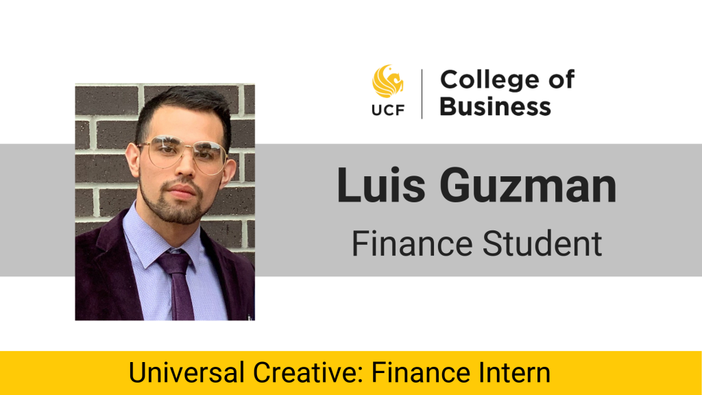 Inspiring Interns: Luis Guzman