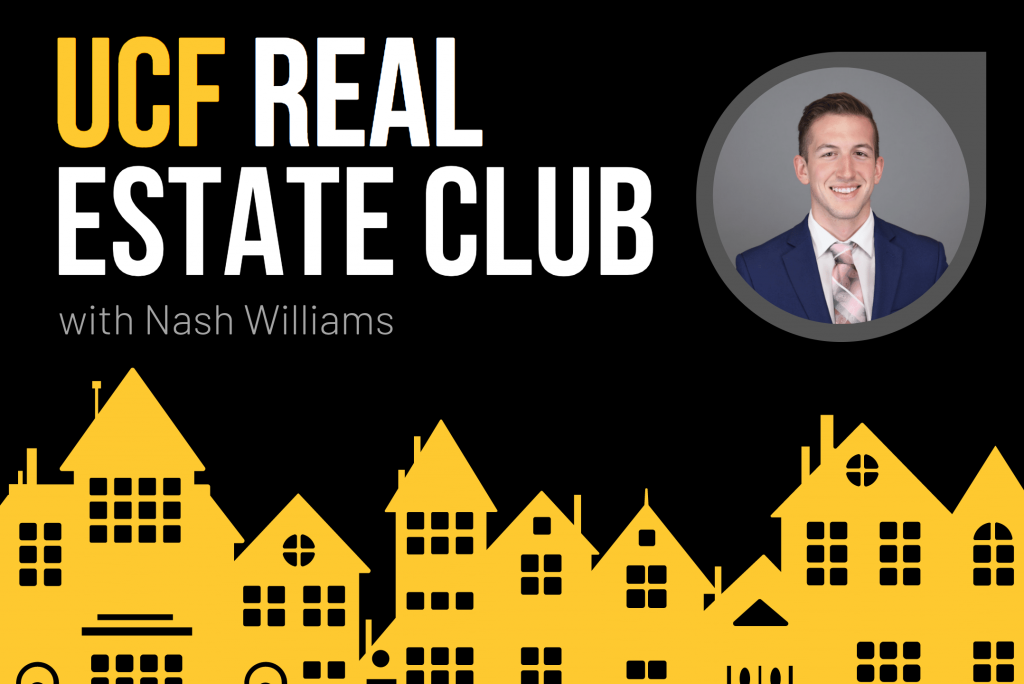 Meet Nash Williams, President of the UCF Real Estate Club