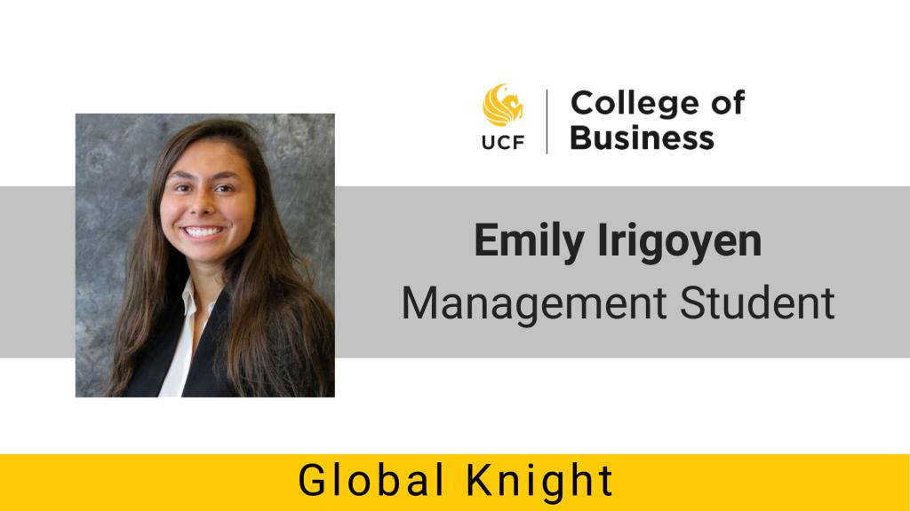 Global Knights: Emily Irigoyen