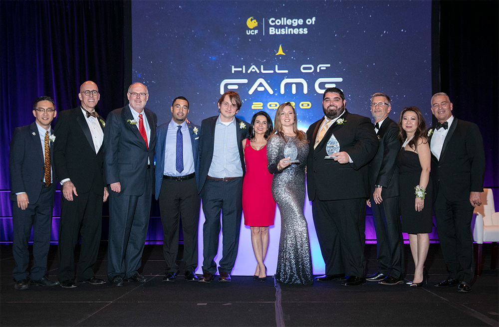 UCF College of Business Celebrates Honorable Alumni, Partners & Executives at 2020 Hall of Fame