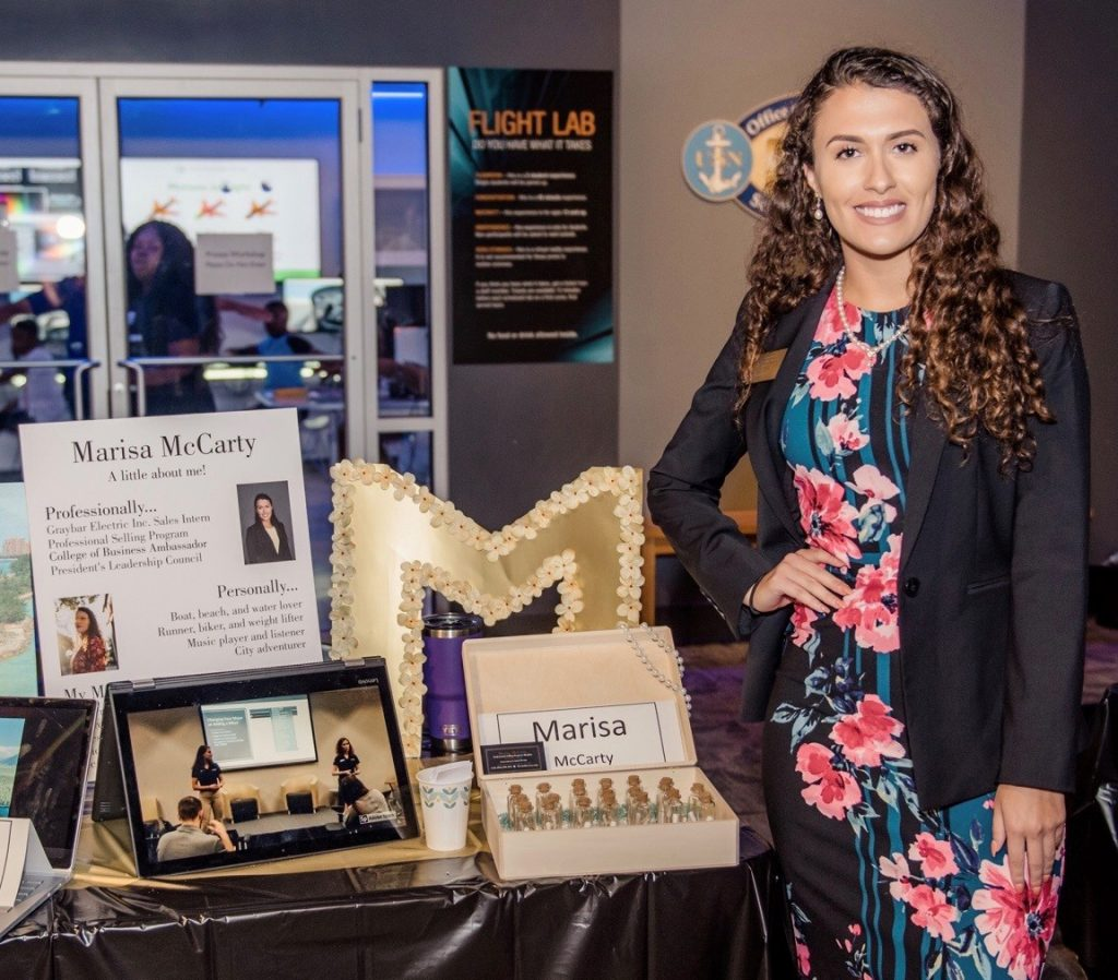 Marketing Student, Business Faculty Honored at Founders' Day