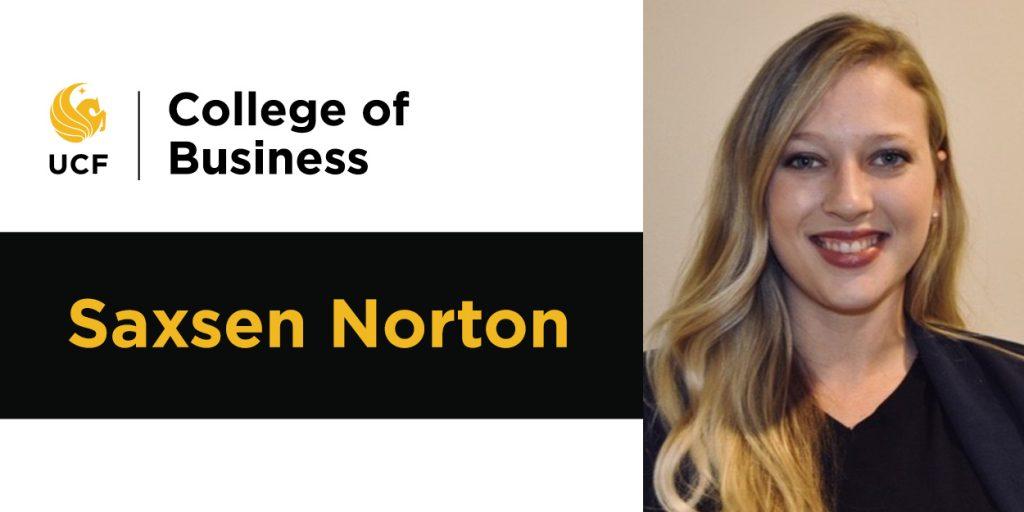 Student Spotlight - Saxsen Norton