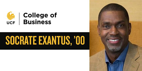 Alumni Spotlight - Socrate Exantus '00