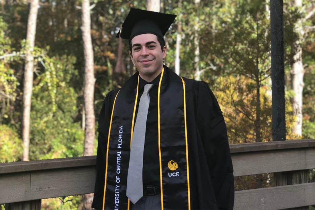 Marketing Student to Receive 300,000th UCF Degree