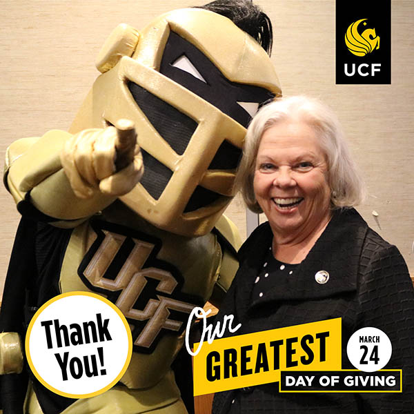 UCF Business Grad Commits $250,000 to First Generation Scholarships