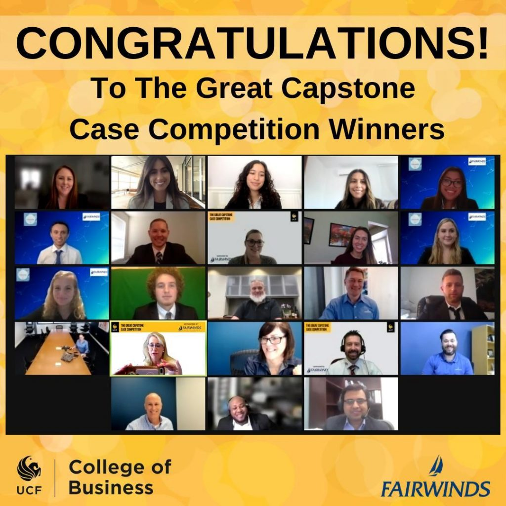 'Financial Independent Partners' Team Wins Summer 2021 Capstone Competition