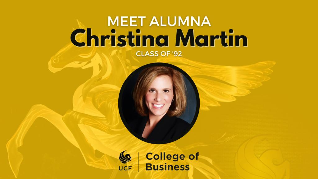 Alumni Spotlight — Christina Martin '92